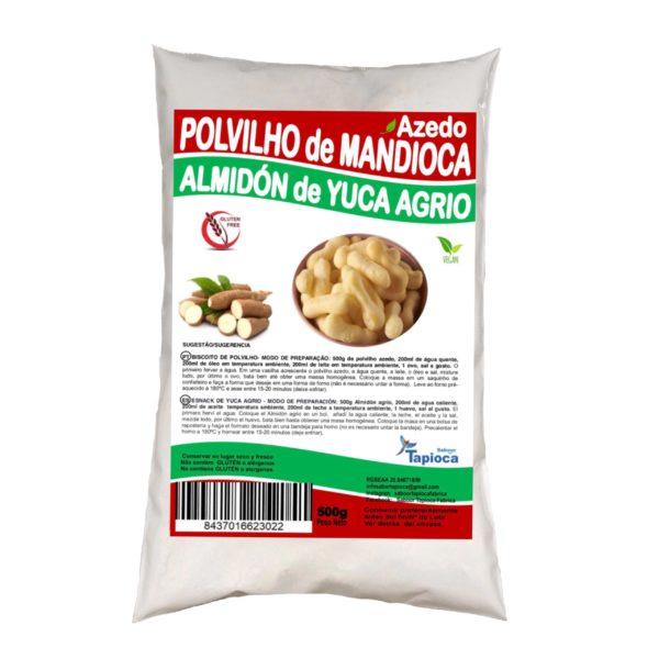 POLVILHO AZEDO/ ALMIDÓN DE YUCA AGRIO