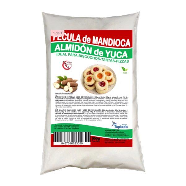 FECULA DE MANDIOCA/ ALMIDÓN DE YUCA